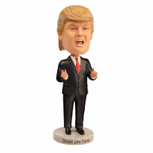 Donald trump 2020 resin bobblehead statue snow globe promos